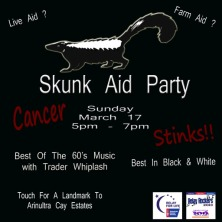 Skunk Aid Party March 17