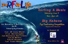 Surf For Life - June 4 - 9am - 9pm Relay Rockers