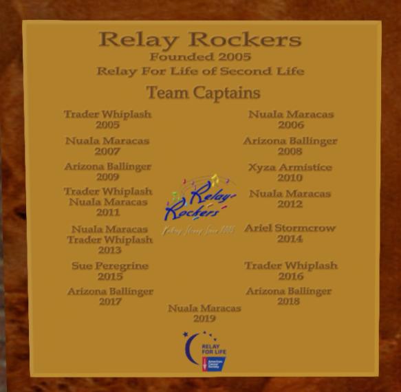 rocker captains